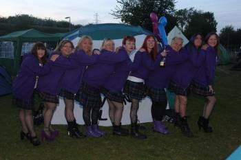 Fallen Angels Tarts in Tartan Rally