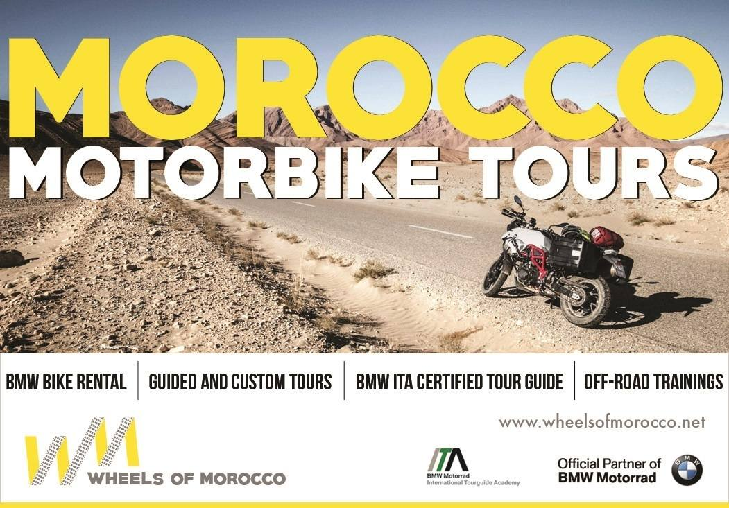 Wheels of Morocco, Motorcycle Touring, experience wonderful weather, scenic