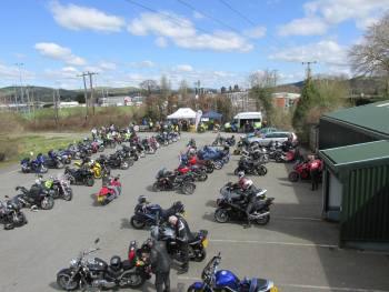 Motorbike Awareness Day - Carmarthenshire Road Safety Unit - Owls Nest Tea