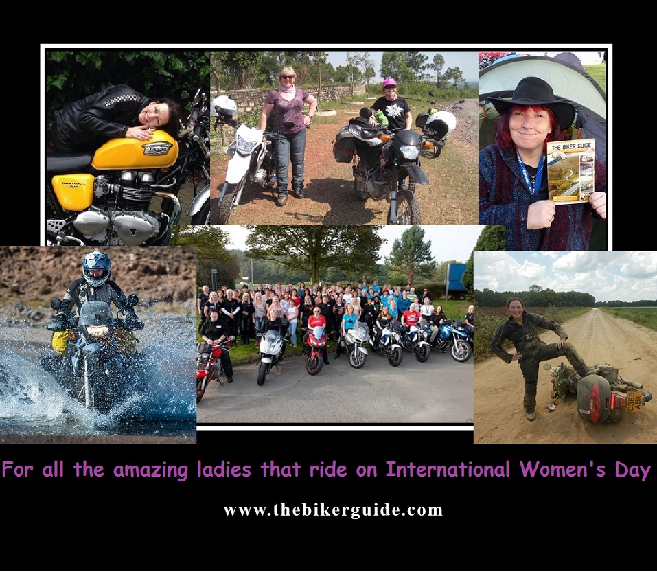 To all the amazing ladies that ride on International Womens Day