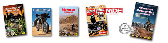 Chris Scott, Adventure Motorcycling Handbook, Street Riding Years, Desert T