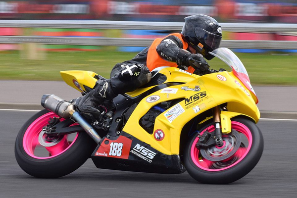 Forest Dunn Revs Up For Isle of Man TT Races