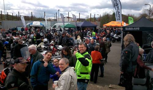 Overland and Adventure Bike Day, Ace Cafe