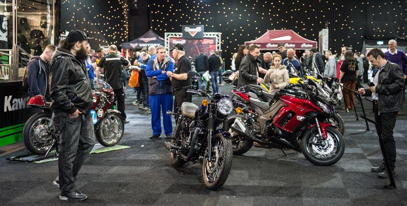 Manchester Bike Show, exhibiting