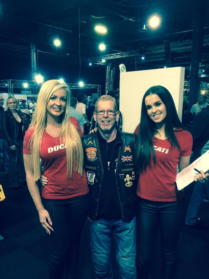 Chris Thomas - Ducati Girls were lovely