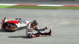 Marquez recovers from crash to lead the way in Austin
