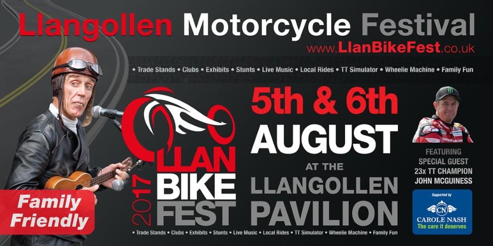 Llangollen Motorcycle Festival - LlanBikeFest
