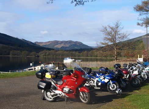 Clachan Cottage Hotel Biker Friendly Perthshire Scotland