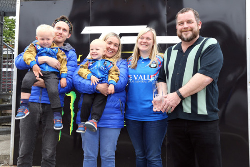 Paul Shoesmith and his family awarded Spirit of the TT Award