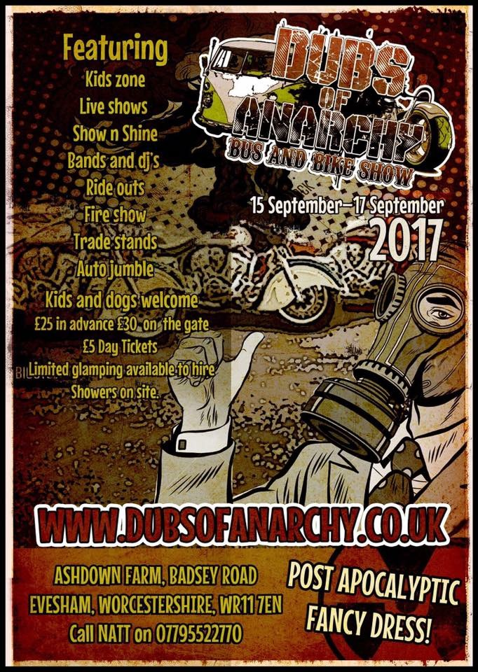 Dubs of Anarchy, September, Evesham, Worcestershire