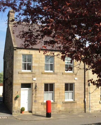 Post Office House, Biker Friendly, Belford, Northumberland