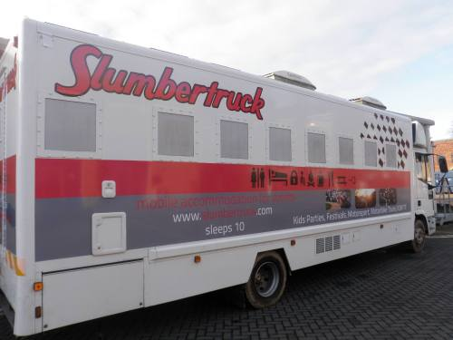 Slumbertruck - Mobile Accommodation for events