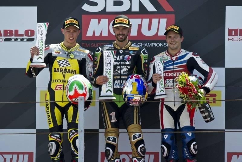 Jacobsen wraps up Misano round with podium finish