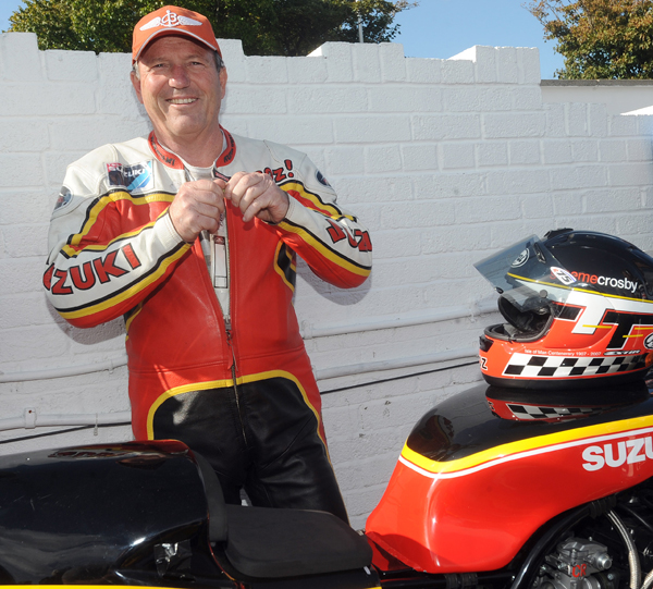 Isle of Man TT legend Graeme Crosby will return as a special guest at the 2