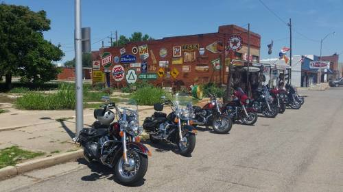 Last Call September USA Motorcycle Tours, Orange and Black