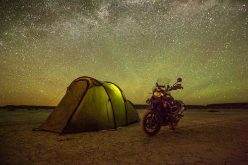 Redverz Tent - A great Motorcycle Touring tent