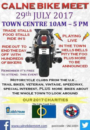 Calne Motorcycle Meet, July, Wiltshire