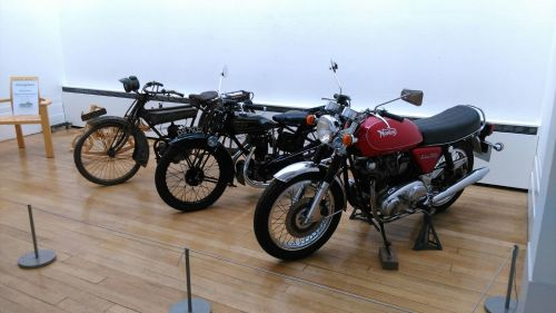 Motorbike - Made and Remembered Exhibition