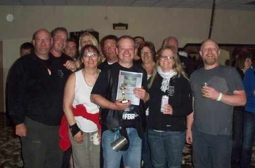 Best Club Turnout at the Magpie Rally, 2010. Winners the Silver Knights. Sp