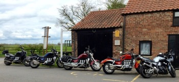 Red Lion Country Inn, Bikers welcome, York, North