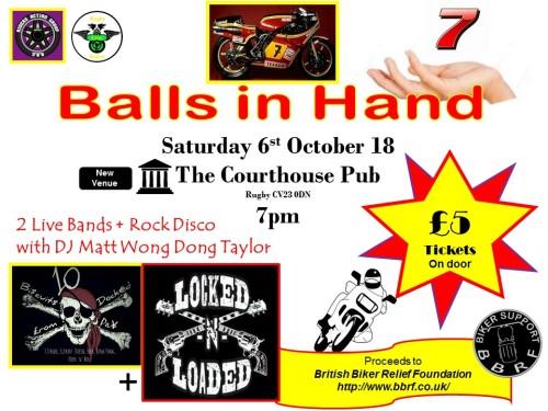 Balls In Hand, Rugby, Warwickshire
