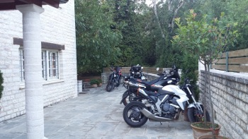 Gamila Rocks, Bikers welcome, Zagorochoria, Ioannina, Greece