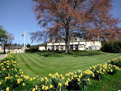 The Colquhonnie House Hotel, Biker Friendly, Strathdon, Aberdeenshire