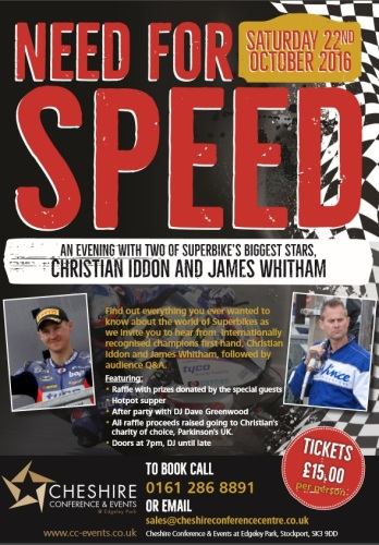 Need for Speed and evening with Christian Iddon and James Whitham