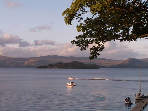 Lagganbeg Holiday Park, Biker Friendly, Loch Lomond, Dunbartonshire