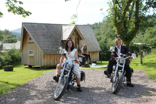 Sunart camping, Bikers welcome, Strontian, Argyll