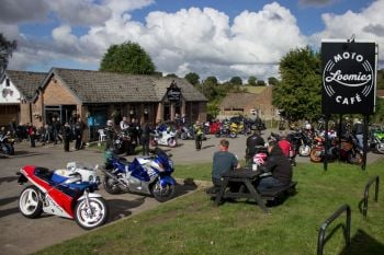 Loomies Cafe, Biker Friendly, West Meon, Hampshire, Wednesday Bike Night