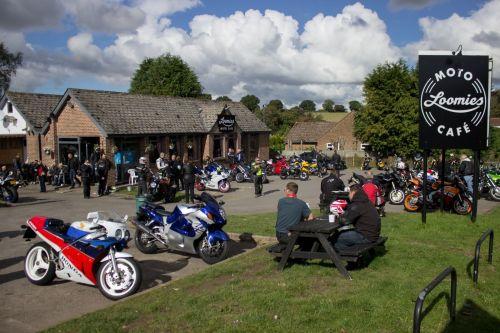 Loomies Cafe, Biker Friendly, West Meon, Hampshire, Wednesday Bike Night