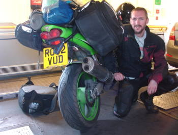 Hapless Biker Donates Royalties to Blood Bike Charity