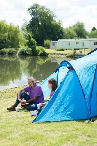 Lee Valley Caravan Park, Dobbs Weir, Biker Friendly camping, Hertfordshire,