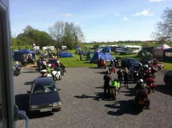 The Bruce Arms, Biker pub, campsite, Wiltshire