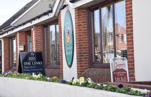 The Links Hotel, Biker Friendly, Seahouses, Northumberland