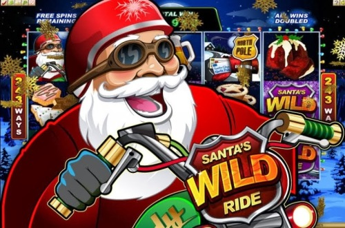 Santas Wild Ride pokie