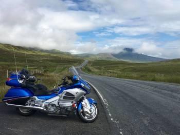 Ray F Walton on the Isle of Skye