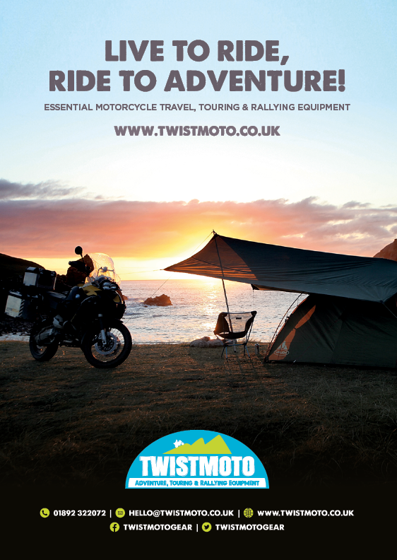THE BIKER GUIDE - 6th edition, Twistmoto, Motorcycle Touring equipment