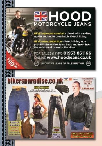 THE BIKER GUIDE - 6th edition, Motorcycle Clothing