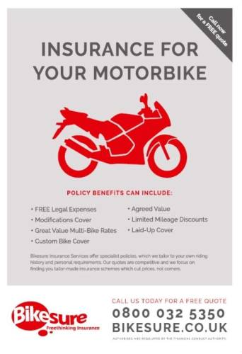 THE BIKER GUIDE - 6th edition, Bikesure, Motorbike insurance