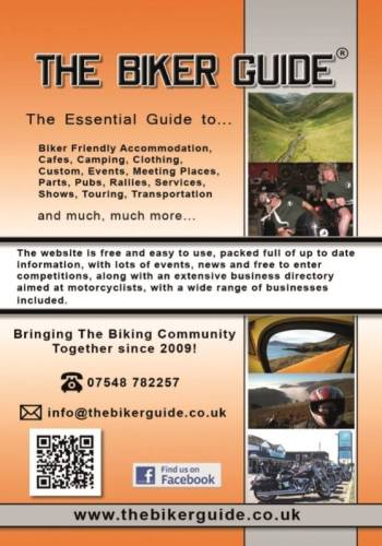 THE BIKER GUIDE - 6th edition, The essential guide for owners of a Motorbik