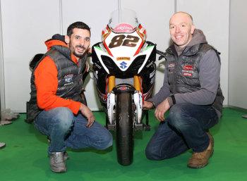 Derek Sheils with John Burrows
