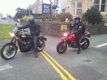 Menai Bank Hotel, Biker Friendly, Caernarfon, North Wales
