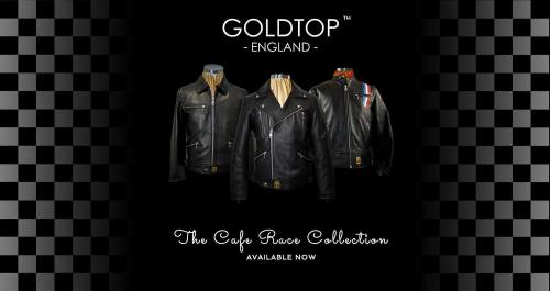 Goldtop England, Classic cafe racer motorcycle clothing