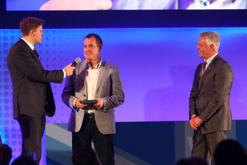John McGuinness receives prestigious honorary BRDC membership
