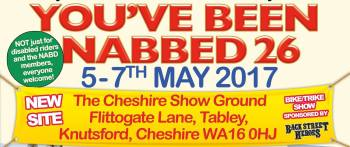 26th Youve Been Nabbed rally, The Royal Cheshire Showground