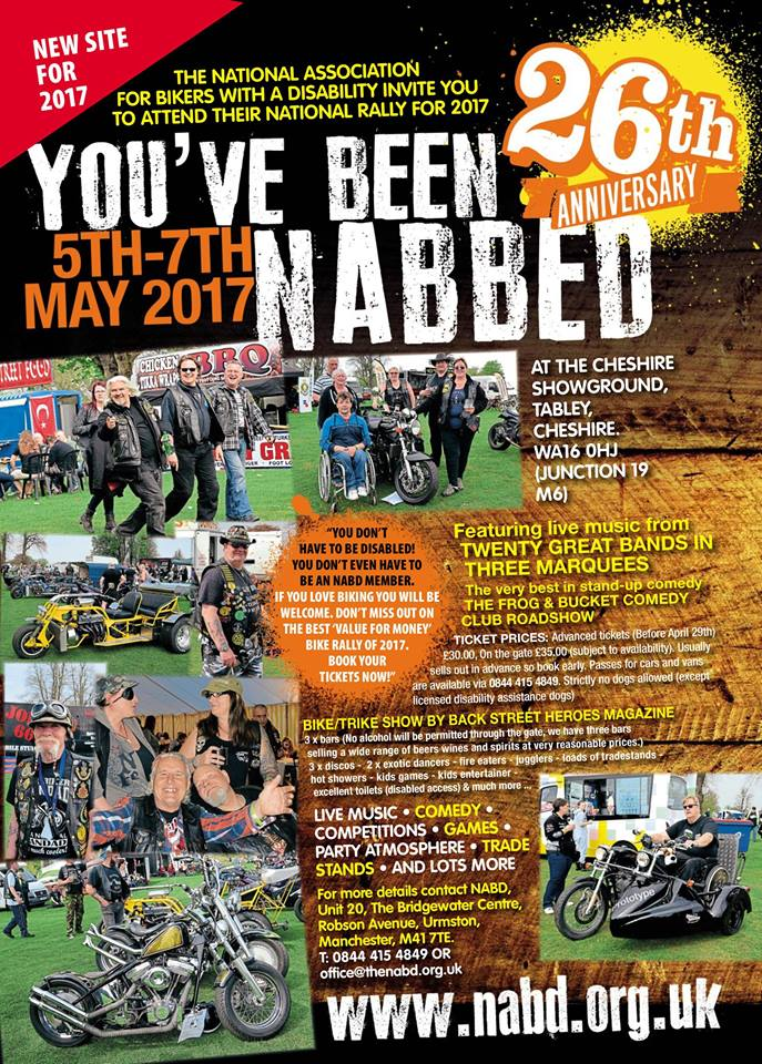 You have been Nabbed - NABDness 26, new venue 2017
