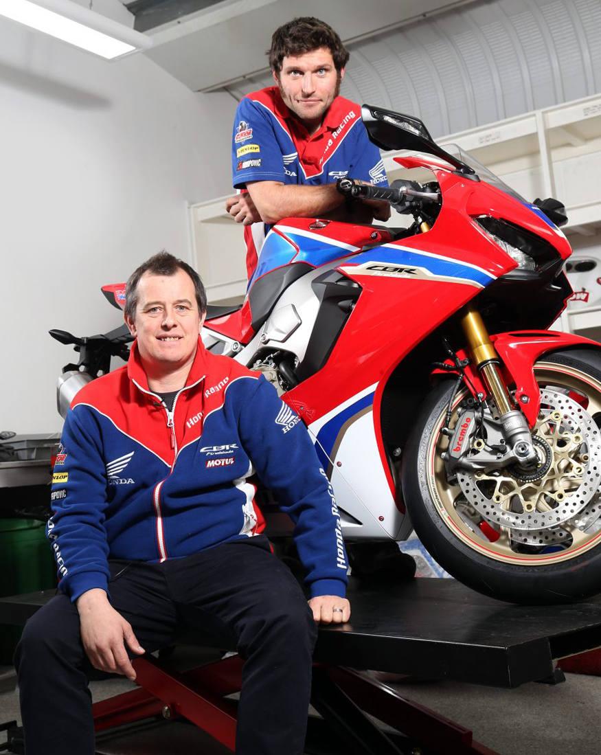 John McGuinness and Guy Martin complete Honda Racing dream team