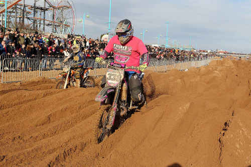 Grass roots events like the Skegness beach race (pictured) would end if Vnu